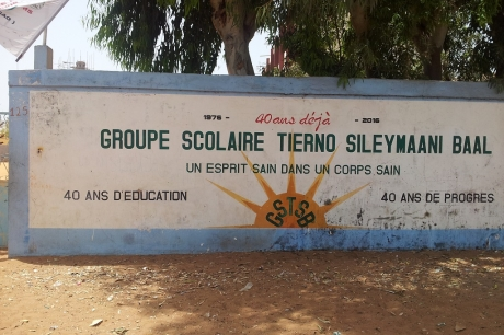Le groupe scolaire Tierno Sileymaani BAAL